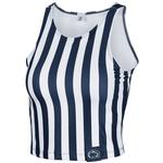 Penn State Women's Spirit Stripe Crop Top