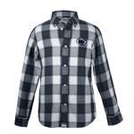 Penn State Infant Cooper Flannel Dress Shirt NAVY