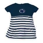 Penn State Infant Liza Stripe Dress