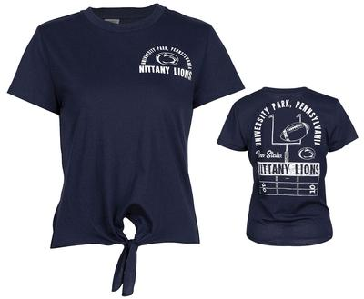ZooZatz - Penn State Women's Pride Tie T-Shirt