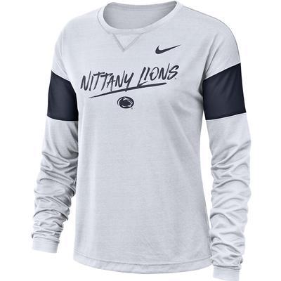 NIKE - Penn State Nike Women's Breathe Long Sleeve