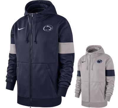 NIKE - Penn State Nike NK Therma Full Zip Hood