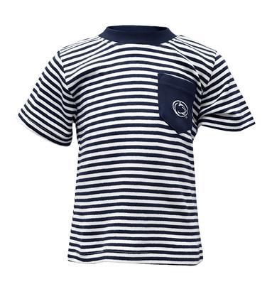 Creative Knitwear - INFANT STRIPED POCKET TEE 466