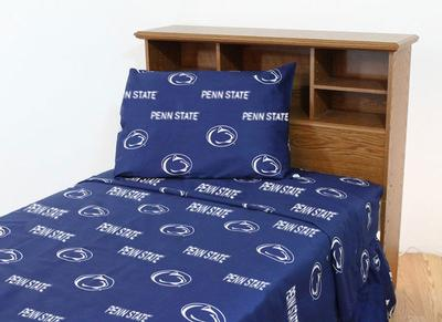 College Covers - Penn State Twin Sheet Set