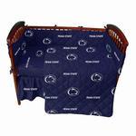 Penn State 5-Piece Crib Set NAVYWHITE