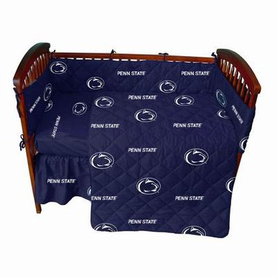 College Covers - Penn State 5-Piece Crib Set