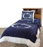 Penn State Twin Bed in a Bag NAVYWHITE
