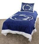 Penn State Twin Comforter Set NAVYWHITE