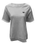 Penn State Women's Roll-Up T-shirt GREY