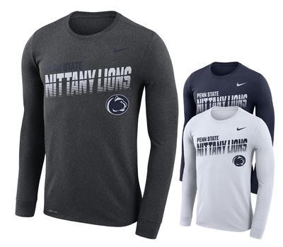 NIKE - Penn State Nike Dri-FIT Legend Sideline Long Sleeve