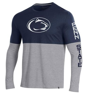 UNDER ARMOUR - Penn State Under Armour Performance Duel Long Sleeve