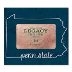 Penn State Heart State Picture Frame NAVYWHITE
