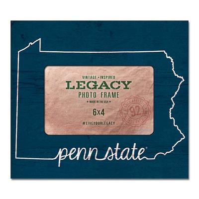 Legacy - Penn State Heart State Picture Frame