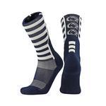 Penn State Stripe Crew Socks