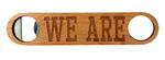 Penn State Wooden We Are Bottle Opener
