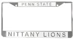 Penn State Acrylic Frost Car Frame WHITE