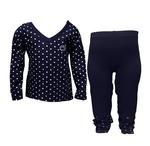 Penn State Toddler Heart Long Sleeve Pant Set