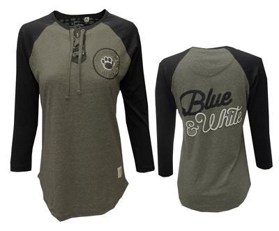 Press Box - Penn State Women's True Lace Up T-Shirt