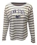 Penn State Women's Nadine Therese Jr. Long Sleeve HEATHERWHITE