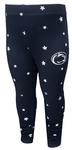 Penn State Infant Star Leggings NAVY