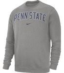 Penn State Nike Club Crew DGREY