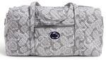 Penn State Women's Vera Bradley Duffel Bag GREY