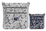 Penn State Women's Vera Bradley Tripe Zip Bag