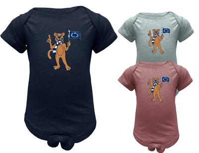 The Family Clothesline - Penn State Infant Mascot Flag Creeper