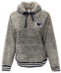 Penn State Women's Kandi Shaggy Fleece Hood CHARCOAL