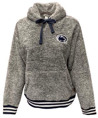 Press Box - Penn State Women's Kandi Shaggy Fleece Hood