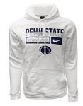Penn State Men's Club Fleece Hood WHITE