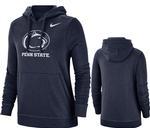 Penn State Women's Nike Club Hood NAVY