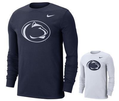 NIKE - Penn State Men's Dri-fit Logo Long Sleeve