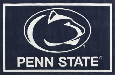 Luxury Sports Rugs - Penn State 5' x 7.5' Luxury Rug