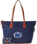 Penn State Dooney&Bourke Tote Top Zip Bag NAVY