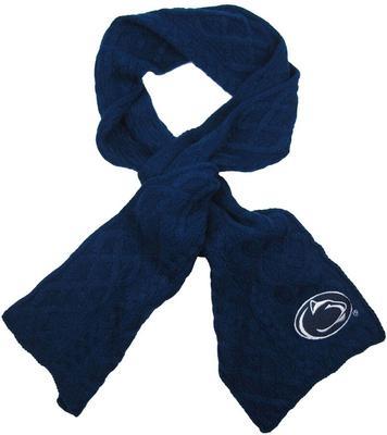 ZooZatz - Penn State Women's Cable Knit Scarf