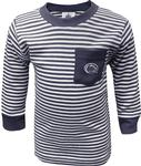 Penn State Infant Striped Pocket Long Sleeve NAVYWHITE