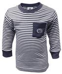 Penn State Toddler Striped Pocket Long Sleeve NAVYWHITE