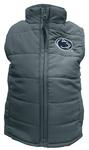 Penn State Youth Quilted Vest CHARCOAL