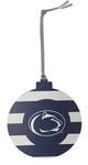 Penn State Candy Stripe Ornament NAVYWHITE