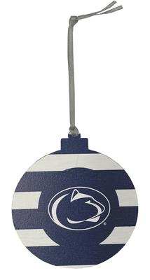 Legacy - Penn State Candy Stripe Ornament
