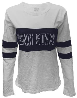 Blue 84 - Penn State Women's Greta Blame Game Longsleeve