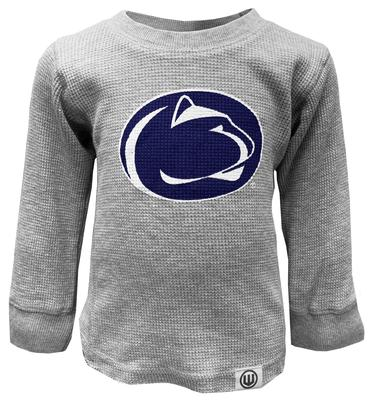 Wes & Willy Collegiate - Penn State Youth Waffle Long Sleeve