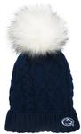 Penn State Women's Cable knit Hat NAVY