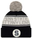 Penn State New Era HS Marker Knit Hat NAVYGREY