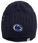 Penn State Women's Honey-Bun Knit Hat NAVY