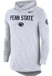 Penn State Nike Men's Slub Hooded Long Sleeve