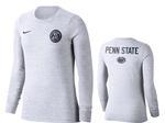 Penn State Nike Women's Rivalry Long Sleeve BIRCH HEATHER