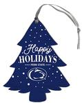 Penn State Happy Holidays Tree Ornament