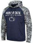 Penn State Poly Fleece Pullover Hood